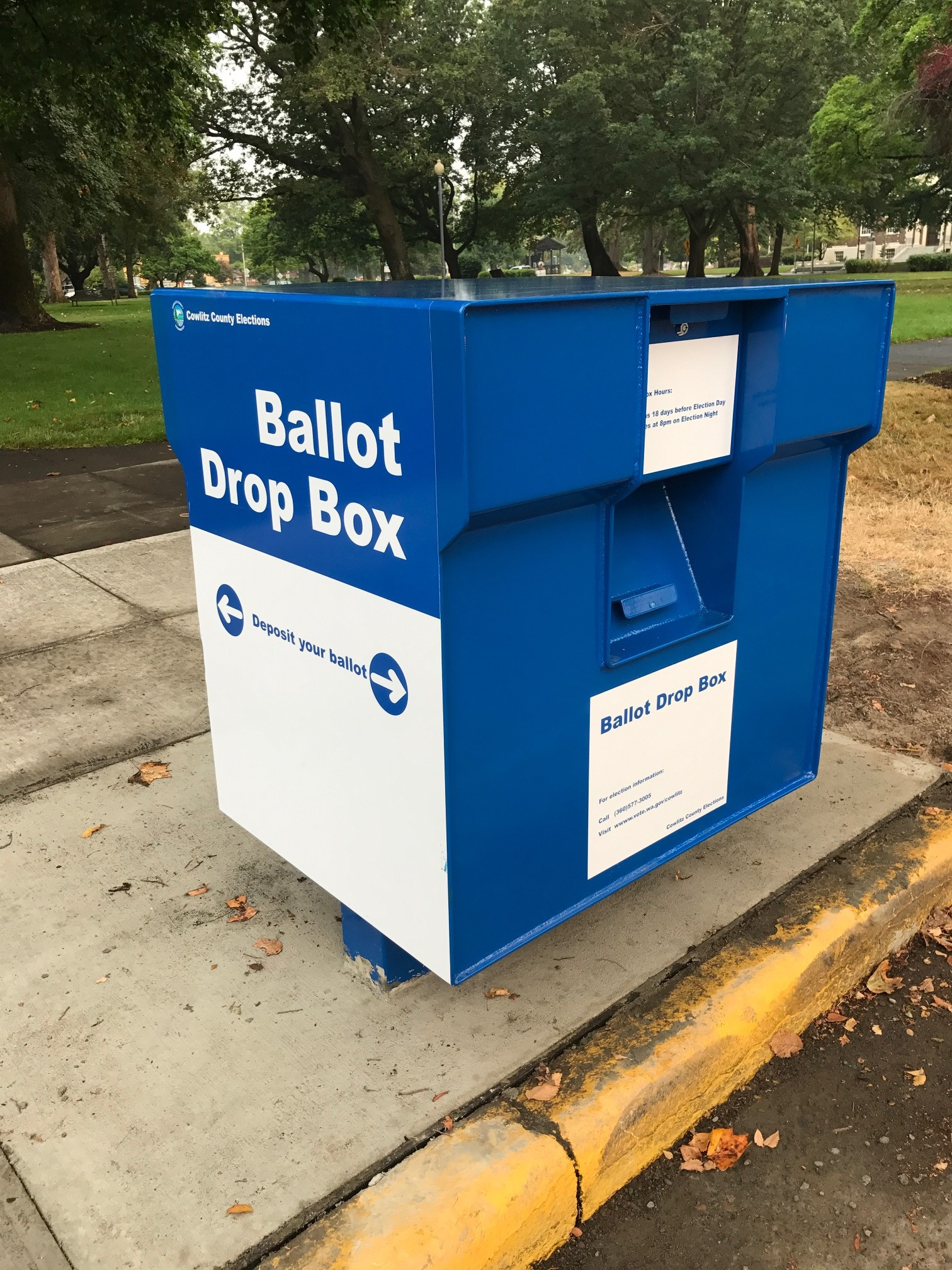 Civic Circle Ballot Box