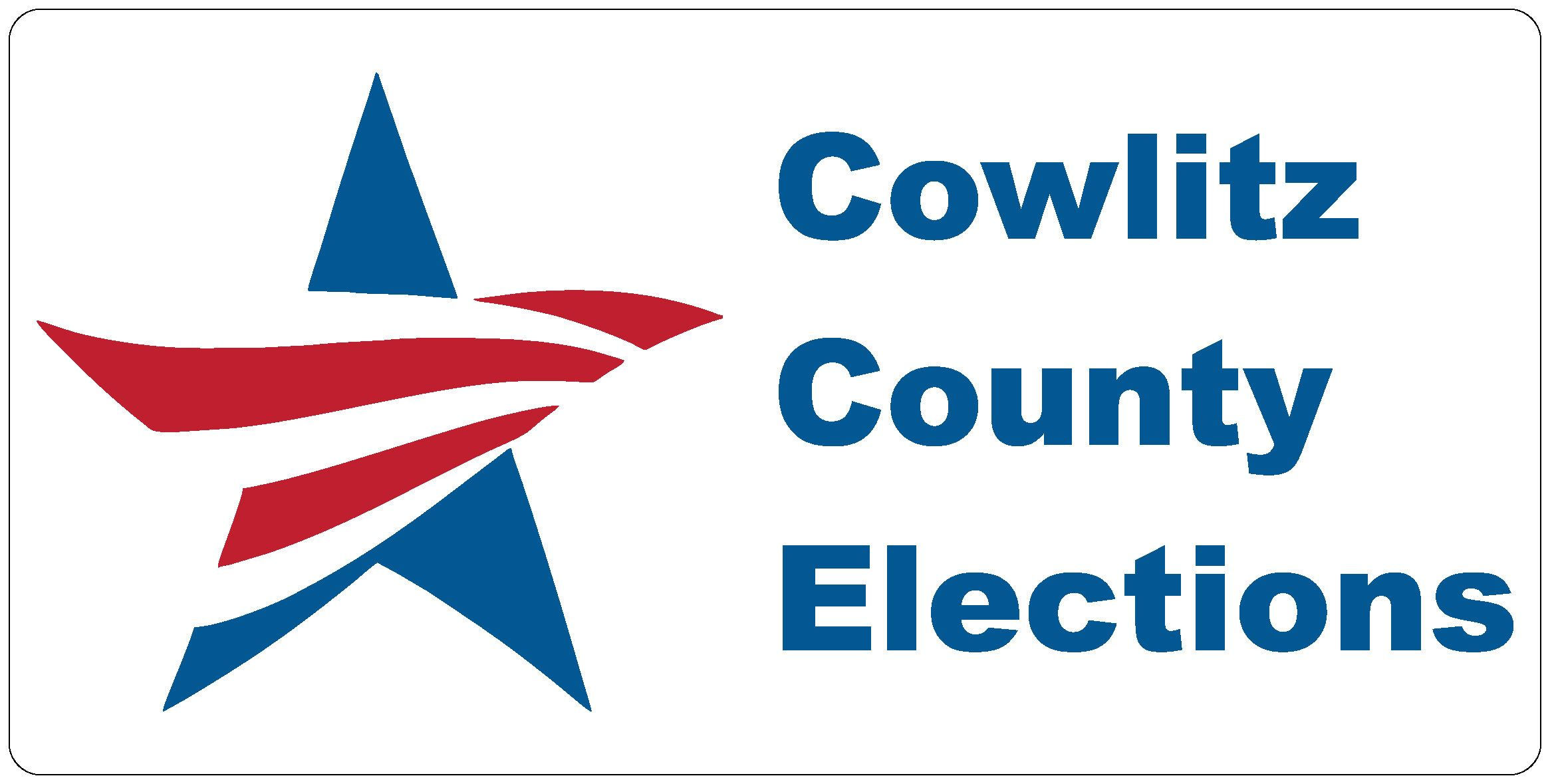 Cowlitz County Elections Logo Opens in new window