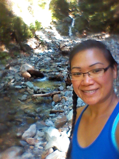 Marie Dang_Hiking and Gold Panning in Randle