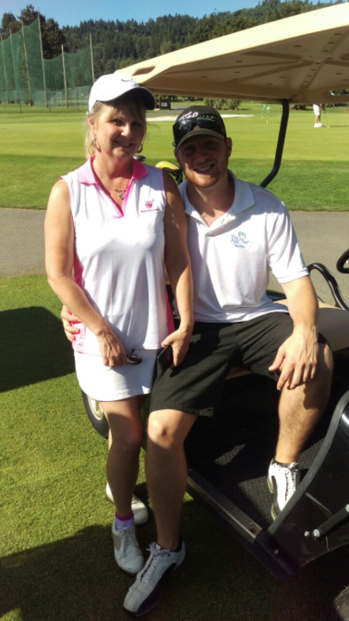 Will Tastad_Golf with Mom